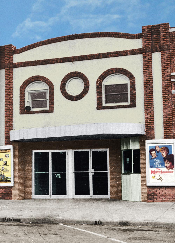 Doric Theatre Elkhart Kansas