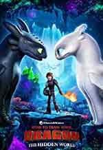 Movie Poster for Train Your Dragon 3.
